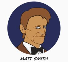 Doctor Who Stickers - Matt Smith. by Donna Huntriss