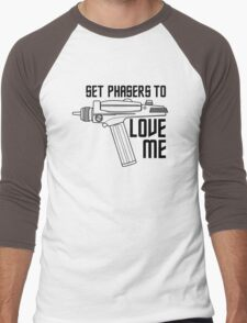 Set Phasers to Love Me Men's Baseball ¾ T-Shirt
