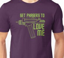 Set Phasers to Love Me (Color Variant) Unisex T-Shirt