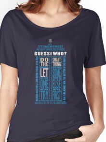 "Doctor Who TARDIS Quotes shirt - Eleventh Doctor ""Pandorica"" Version Women's Relaxed Fit T-Shirt"