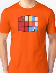 Solving the cube Unisex T-Shirt