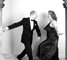 Jerry & Pam as Fred Astaire & Rita Hayworth by LadyLuckOfBoise
