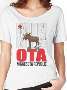 Minnesota Republic Twin Cities Edition Women's Relaxed Fit T-Shirt