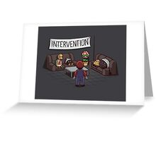 Intervention Greeting Card