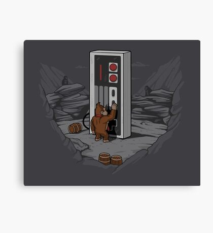 Dawn of Gaming Canvas Print