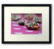 Little Freckles Framed Print