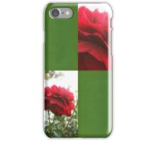Red Rose with Light 1 Blank Q5F0 iPhone Case/Skin