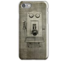 Grunge Vintage Phone for iphone iPhone Case/Skin