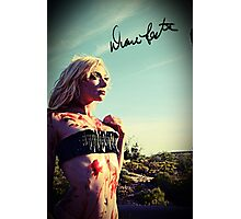 Bloody Beauty  Photographic Print