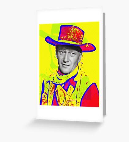 John Wayne in Red River Greeting Card