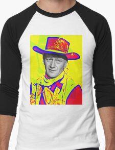 John Wayne in Red River Men's Baseball ¾ T-Shirt
