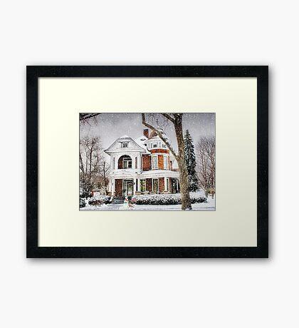 Snow for Christmas Framed Print