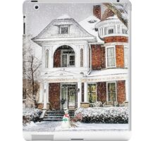 Snow for Christmas iPad Case/Skin