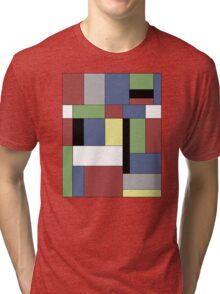 Mondrian #5 Tri-blend T-Shirt