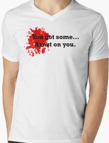Some Arnzt On You Mens V-Neck T-Shirt