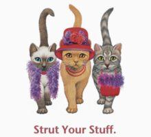 Strut Kids Tee