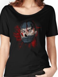 TOK comic book mask Women's Relaxed Fit T-Shirt