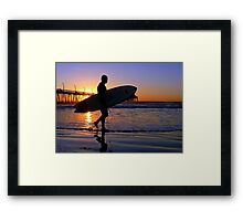 Nocturne Pacifica Framed Print