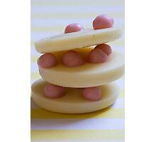 strawberry cream stack Photographic Print
