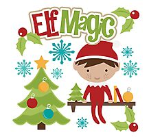 Elf Magic Photographic Print