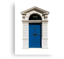 Irish building door Canvas Print