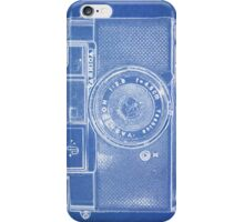 Ultra Retro Blue Print Camera Phone Case iPhone Case/Skin
