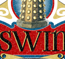 Doctor Who Inspired Oswin Oswald's Souffles - Souffle Girl Shirt - Daleks Sticker