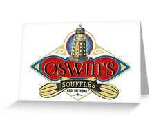 Doctor Who Inspired Oswin Oswald's Souffles - Souffle Girl Shirt - Daleks Greeting Card