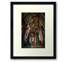 St. Patricks Cathedral, Melburne Framed Print