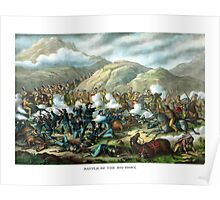 Battle Of The Big Horn -- General Custer Poster