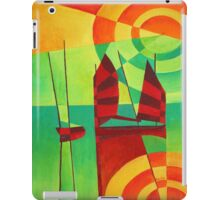 Chinese Junks On Still Waters iPad Case/Skin