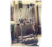 Old shearer Poster