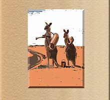 HITCHING AUSSIES by Jon de Graaff