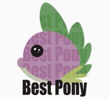 Spike is best pony by Shemi