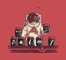 Kleptonaut by Hector Mansilla