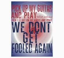 The Who Won't Get Fooled Again by geekchicprints