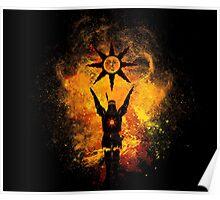 Praise the Sun Art Poster