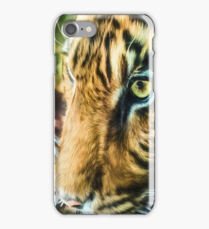 Eye Of The Tiger (GO2) iPhone Case/Skin