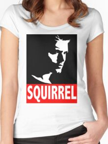 "Dean ""SQUIRREL"" Supernatural Women's Fitted Scoop T-Shirt"