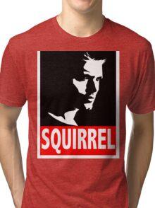 """Dean """"SQUIRREL"""" Supernatural Tri-blend T-Shirt"""