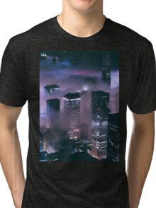 Foggy Night Tri-blend T-Shirt