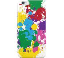 Vibrant Splatter iPhone Case/Skin
