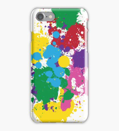 Vibrant Splatter iPhone Case/Skin