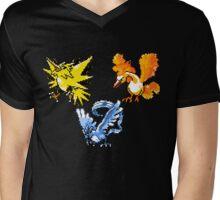 Legendary Bird Trio Mens V-Neck T-Shirt