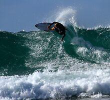 Surfing Snapper Rocks #1 04.09.2013 by Noel Elliot