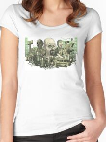 Breaking Bad World Women's Fitted Scoop T-Shirt