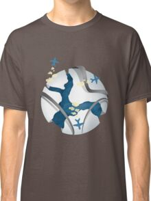 Travel over the world Classic T-Shirt