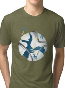 Travel over the world Tri-blend T-Shirt