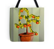 floral composition with oranges Tote Bag