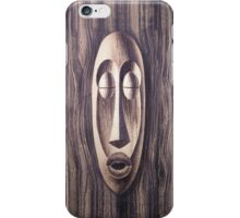 WALL OF TIKI  iPhone Case/Skin